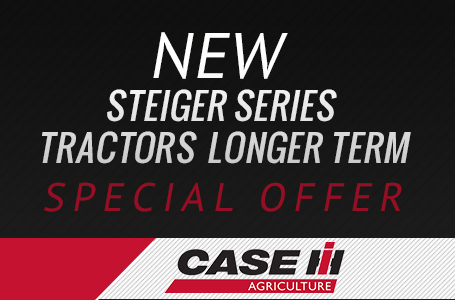 New Steiger Series Tractors Longer Term Offer
