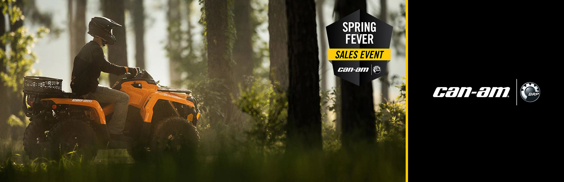 Can-Am: Spring Fever Sales Event-Outlander