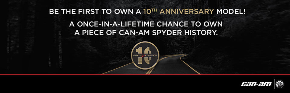 Can-Am: Can-Am Spyder 10th Anniversary