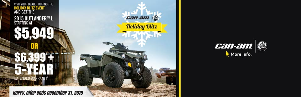 Holiday Blitz Outlander™ L