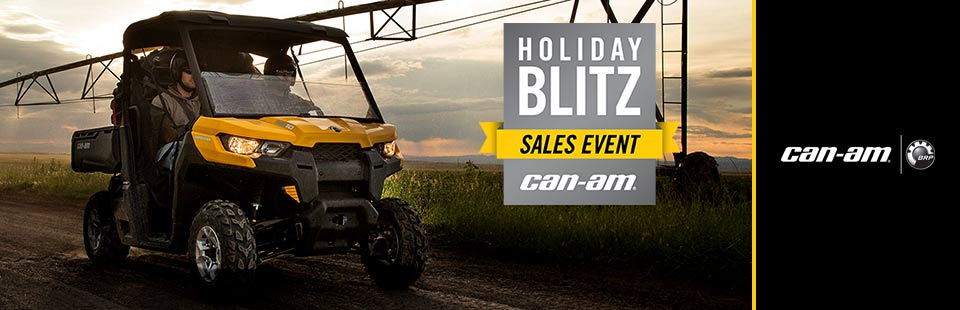 Holiday Blitz Sales Event (Defender Promotion)