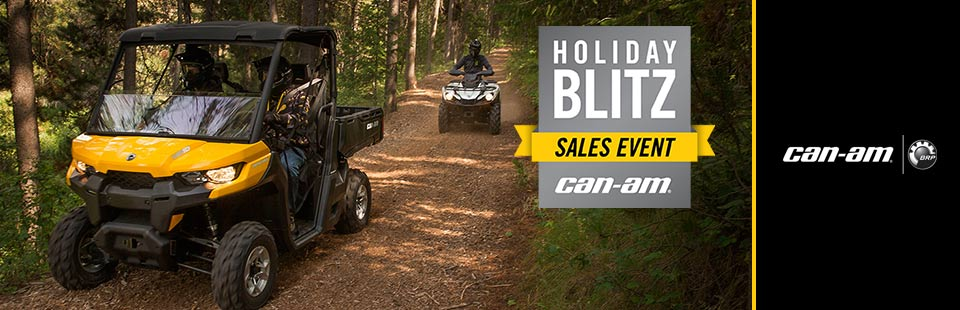 Holiday Blitz Sales Event (ATV Offer)
