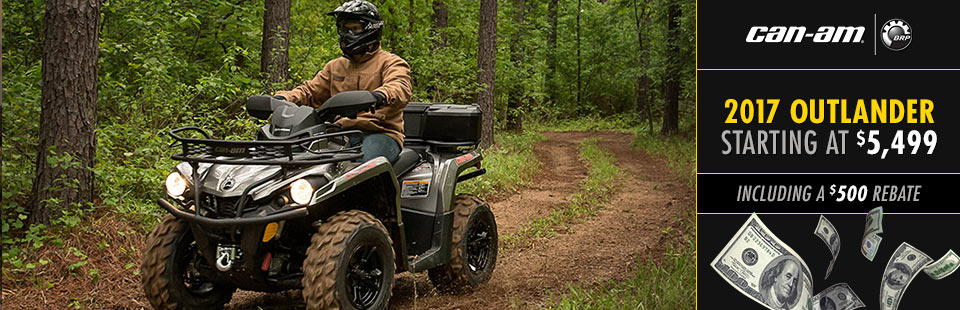 Can-Am: Outlander L Offer
