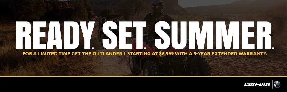 READY. SET. SUMMER. (Outlander L)
