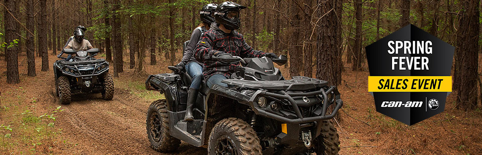 Can-Am: Spring Fever Sales Event (ATV)