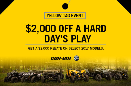 Yellow Tag Event (General Offer)
