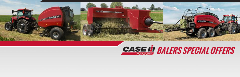 Case IH: Balers Special Offers