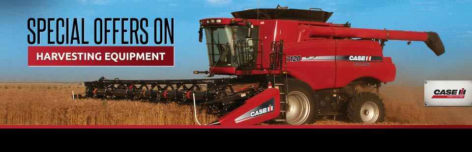 Special Offers on Harvesting Equipment