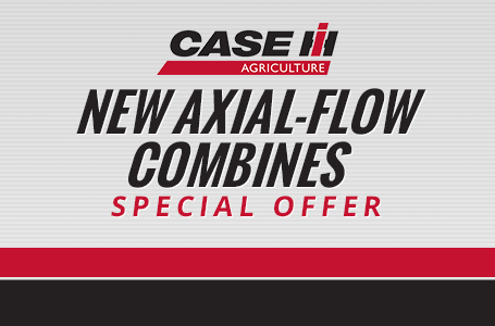New Axial-Flow Combines Special Offer