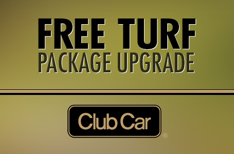 Free Turf Package Upgrade