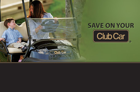 Save on your Club Car