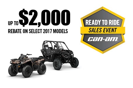 Ready to Ride Sales Event - General Offer Combo
