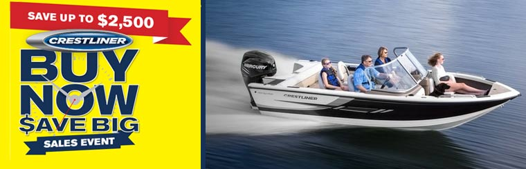 Crestliner Buy Now $ave Big Sales Event