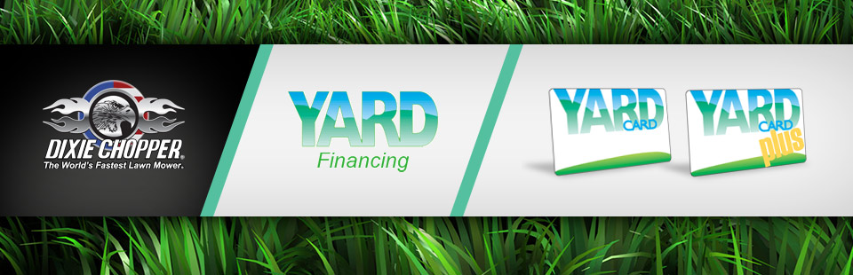 Dixie Chopper: Yard Card and Yard Card Plus Promotional Offers
