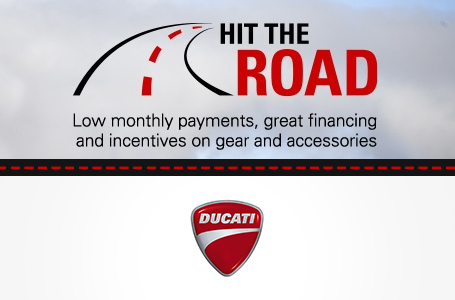 Hit the Road with Special Offers from Ducati