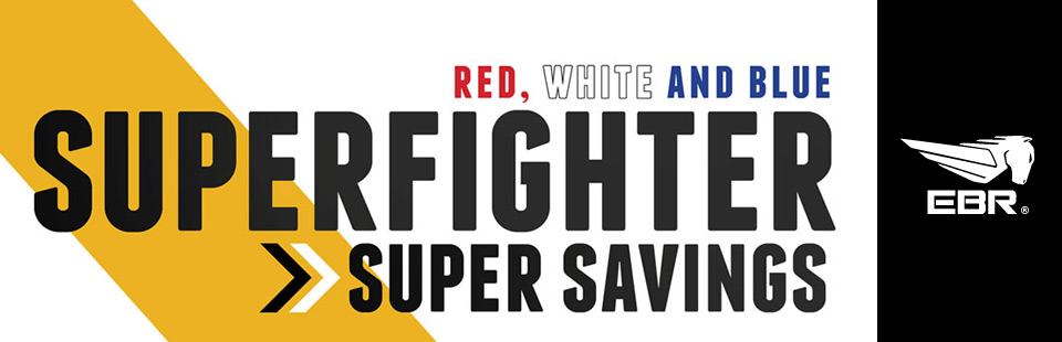 Red, White and Blue Superfighter Savings