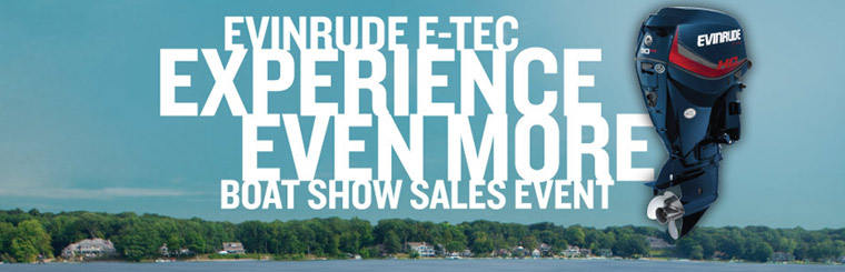 E-TEC Experience Even More Boat Show Sales Event