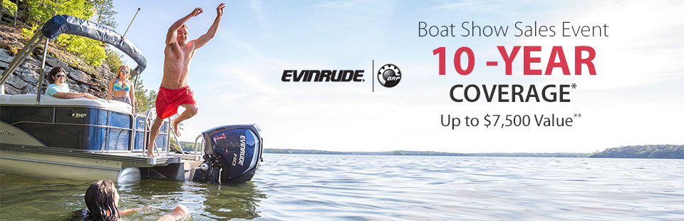 Evinrude: Boat Show Sales Event
