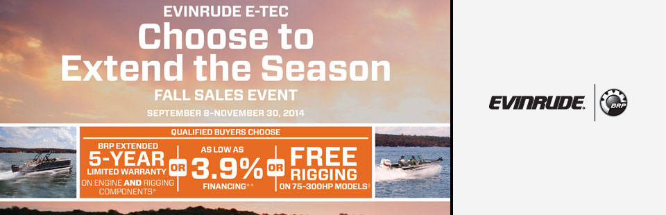 Choose to Extend the Season Fall Sales Event