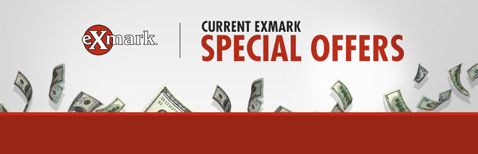 Exmark: Current Exmark Special Offers