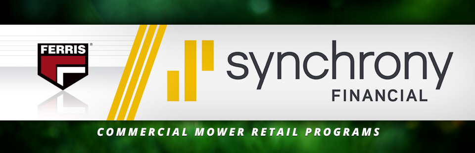 Ferris: Commercial Mower Retail Programs-Synchrony Bank
