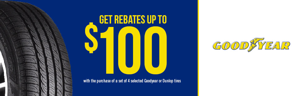 Get Rebates Up To $100