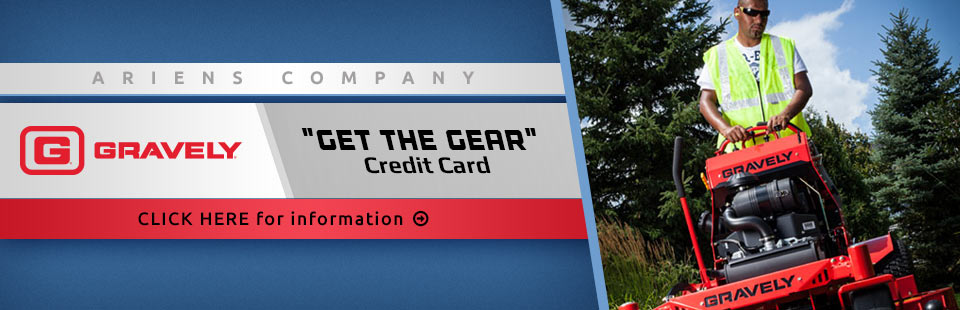 "Ariens Company ""Get The Gear"" Credit Card"