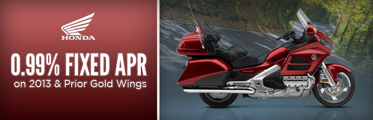 0.99% Fixed APR on 2013 & Prior Gold Wings
