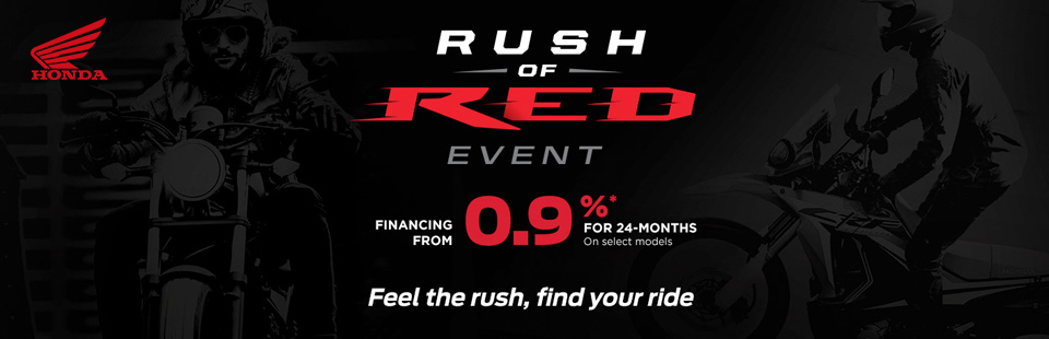 Rush of Red Event