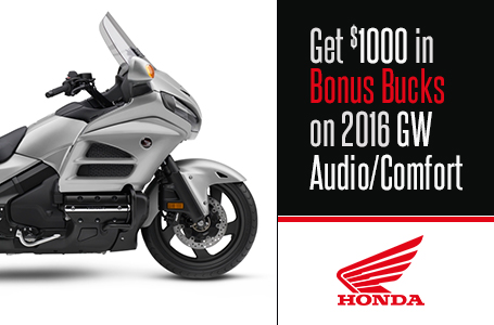 Get $1000 in Bonus Bucks on 2016 GW Audio/Comfort