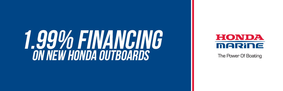 1.99% Financing on Outboard Motors