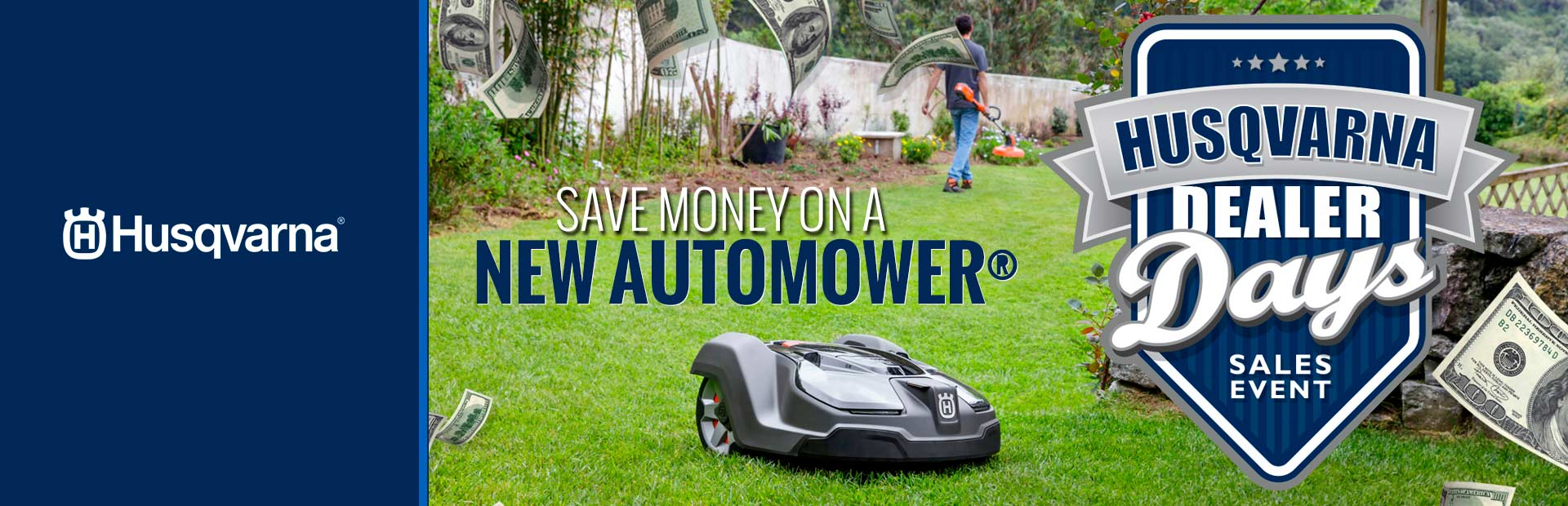 Husqvarna: Save Money on a New Automower®