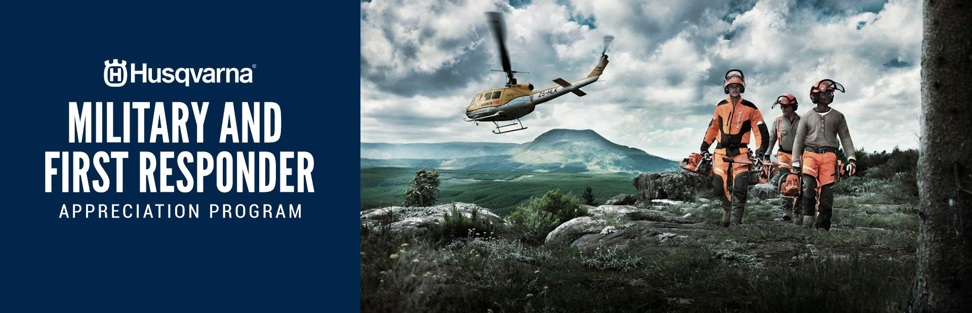Husqvarna: Military and First Responder Appreciation Program