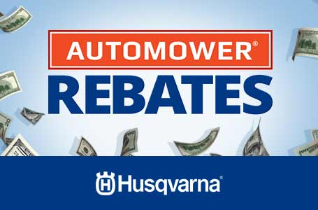 Automower® Rebates