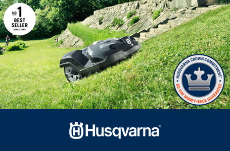 Husqvarna Automower® Crown Commitment™ Program