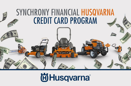 Synchrony Financial Husqvarna Credit Card Program