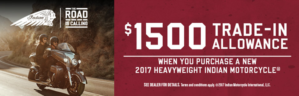 Indian Motorcycle: June Road is Calling (Heavyweight)