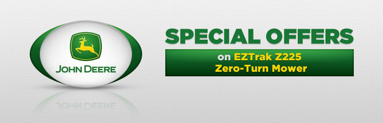 Offers on EZTrak Z225 Zero-Turn Mowers