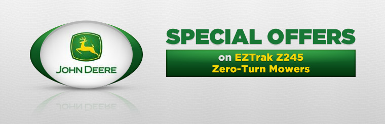 Offers on EZTrak Z245 Zero-Turn Mowers