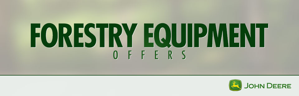 John Deere: Forestry Equipment Offers