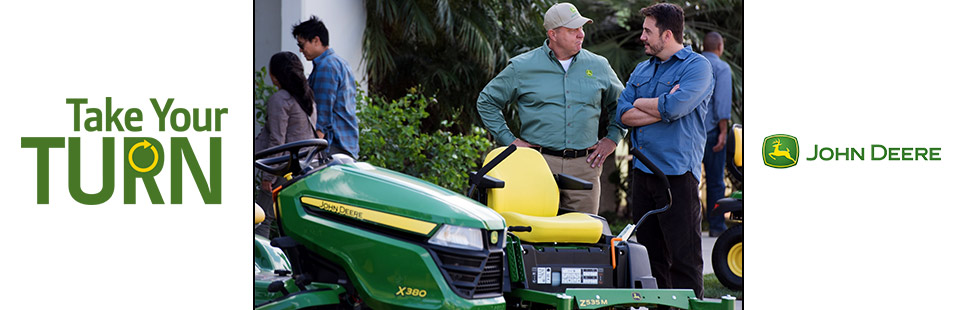 John Deere: Take Your Turn Save $250 or $150