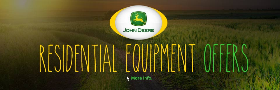 Residential Equipment Offers