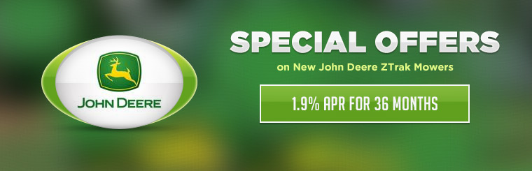 Special Offers on John Deere ZTrak Mowers