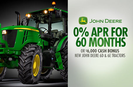0% APR for 60 Months† OR $6,000 Cash (6D & 6E)