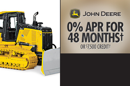 0% APR for 48 Months† OR $7,500 Credit†