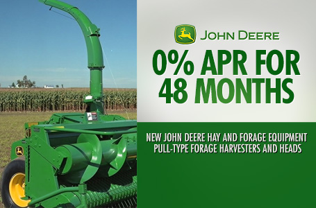 0% APR for 48 Months Pull-Type Forage Harvesters