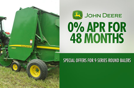 0% APR for 48 Months Round Balers & Square Balers