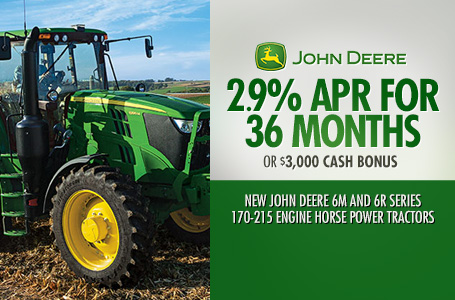 2.9% APR for 36 Months (6M and 6R Series 170-215)