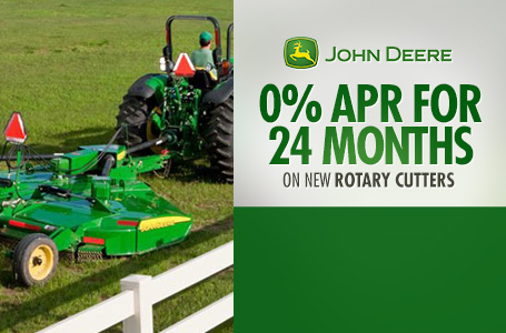 0% APR for 24 Months on New Rotary Cutters