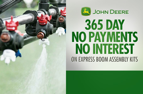365 Day No Payments No Interest on Express Boom